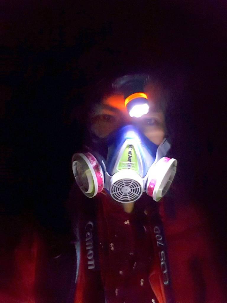 Volcano Gas Mask