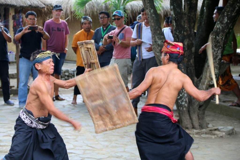 Sasak Stick Fight