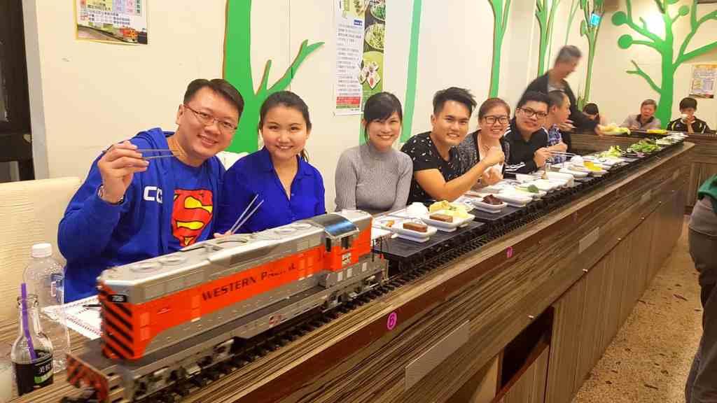 Loop Train Vegetarian Buffet
