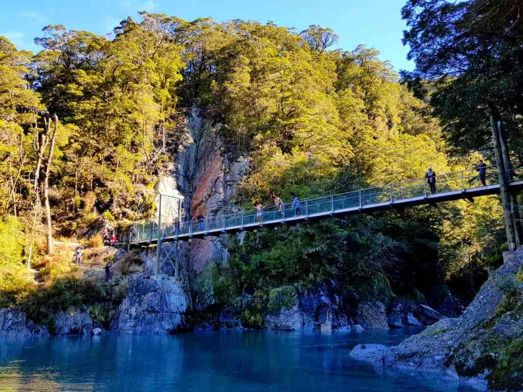 Blue Pool, Wanaka, New Zealand