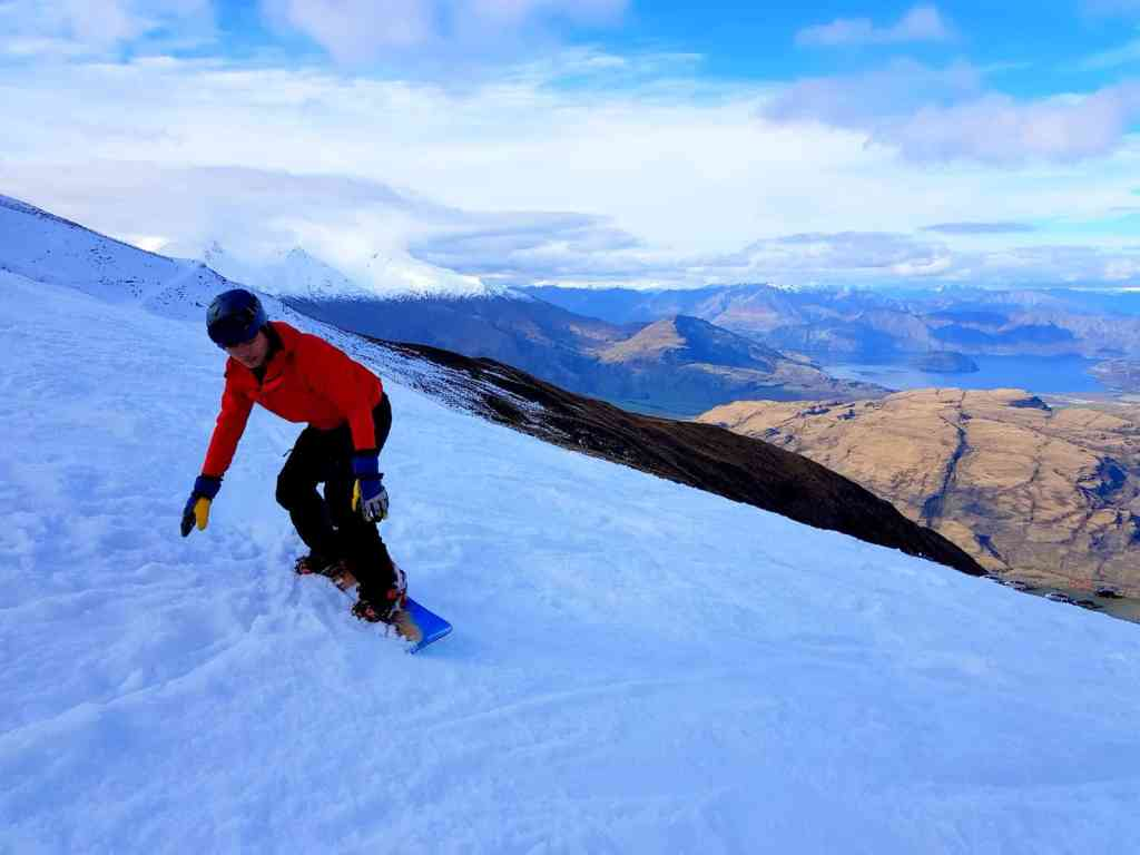 Snowboarding New Zealand
