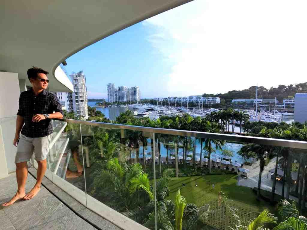 W Singapore Balcony