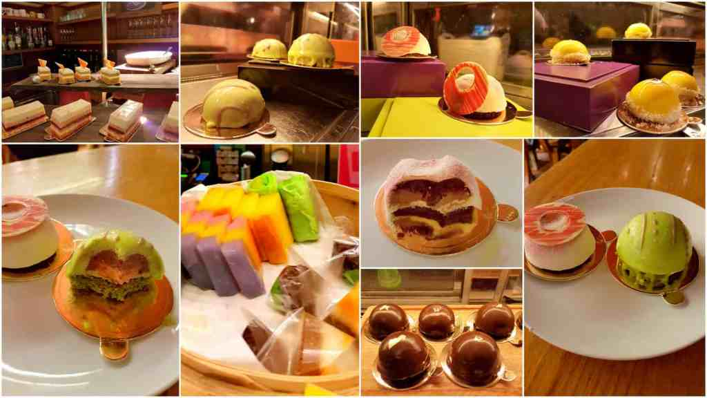 W Singapore Restaurant Pastries