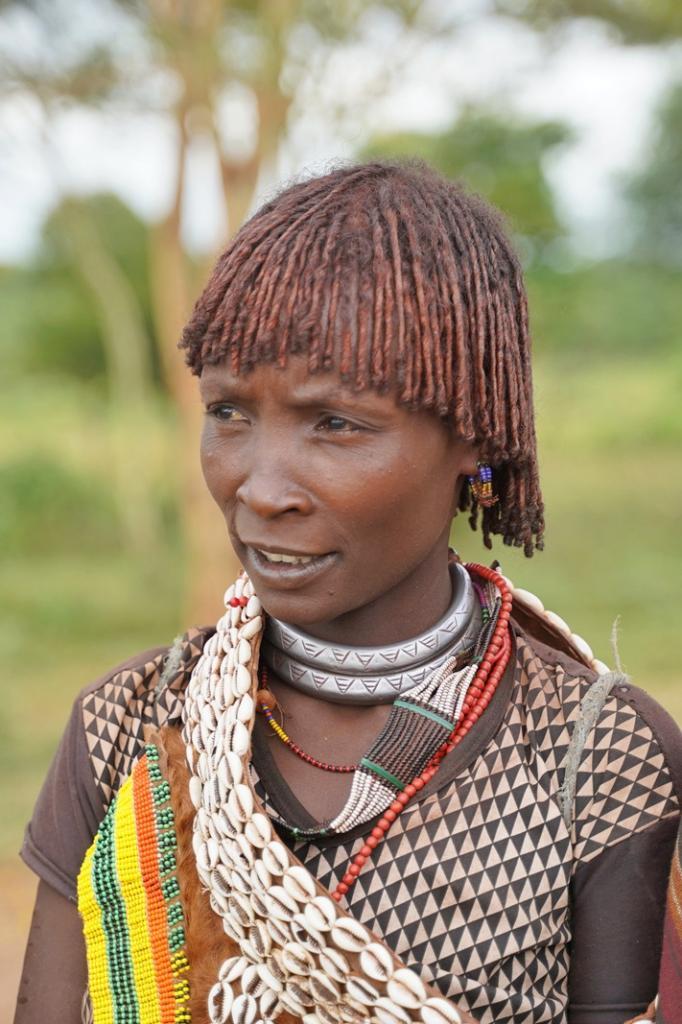 Ethiopia Hamer Tribe Woman