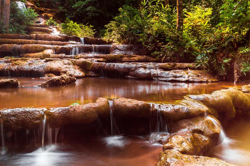 pha charoen waterfall peaceful travel is sweet