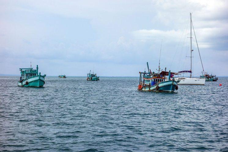 Lode pri ostrove Koh Rong