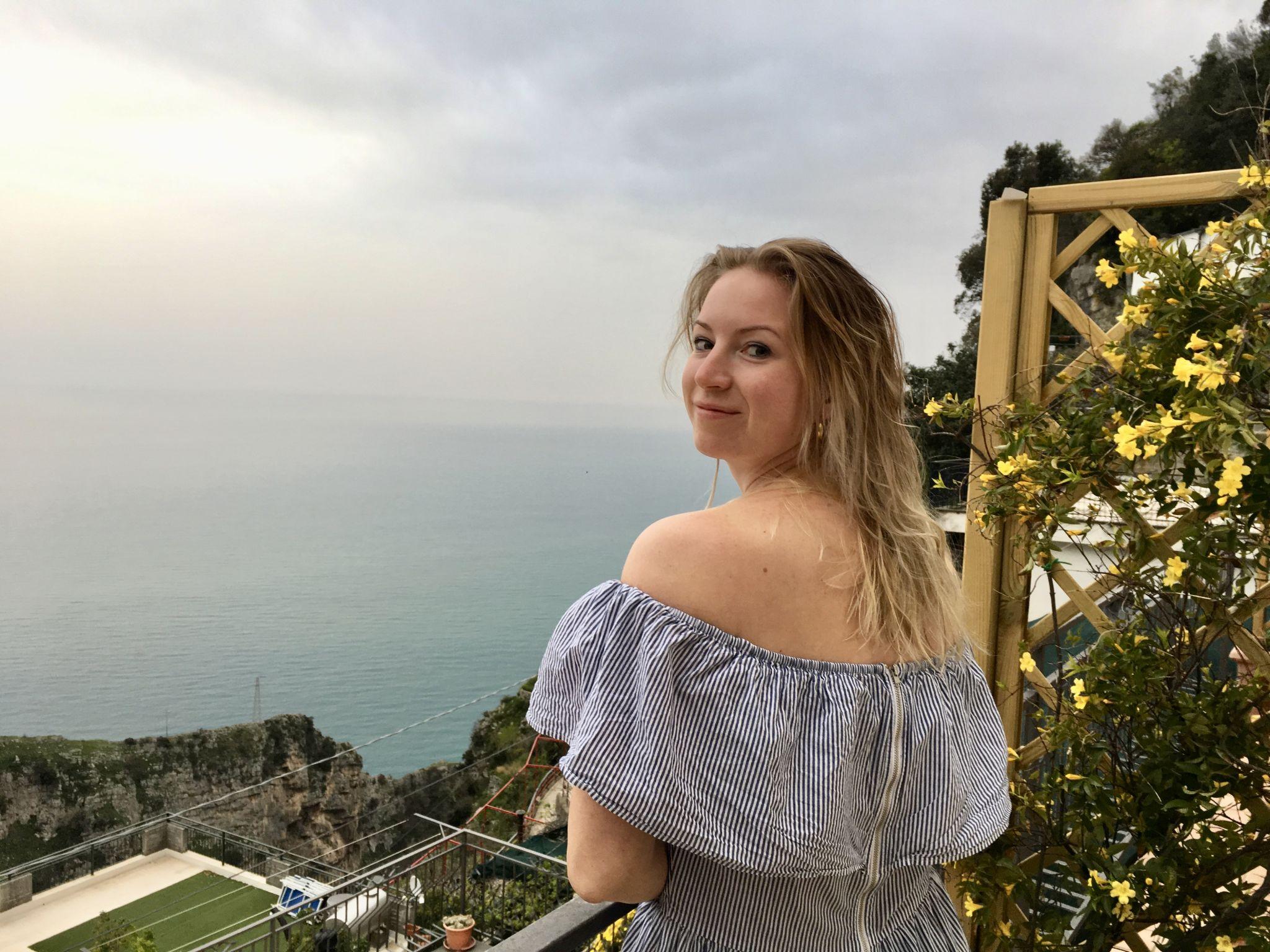 Travel Jael in Amalfi, Italy.