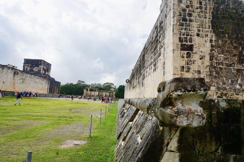Gran Juego de Pelota Ball Court in Chichen Itzá