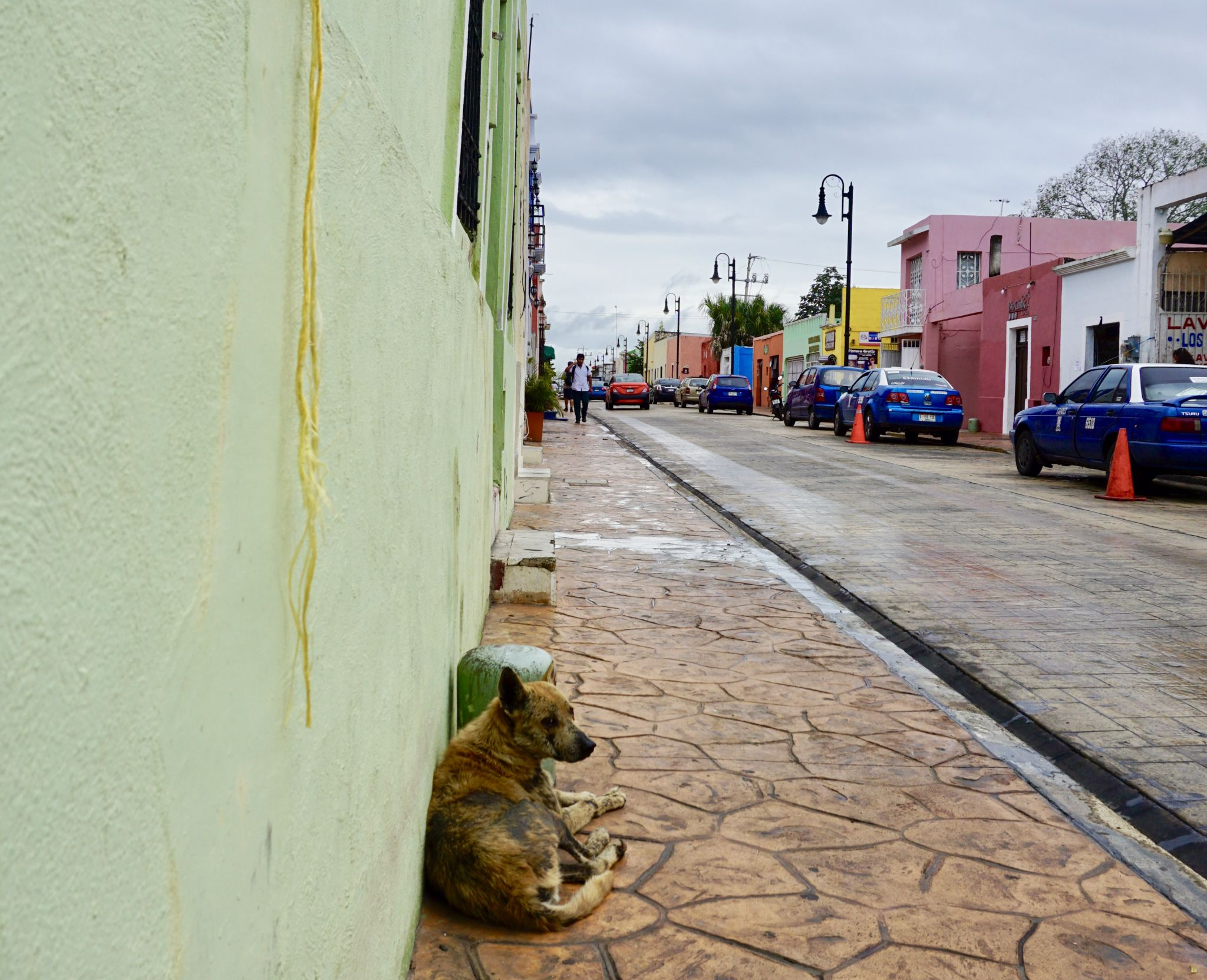 Wandering the streets of Valladolid in Mexico