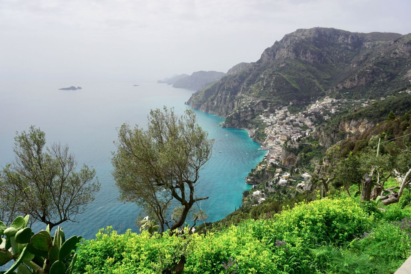 Hiking the Path of Gods on the Amalfi coast