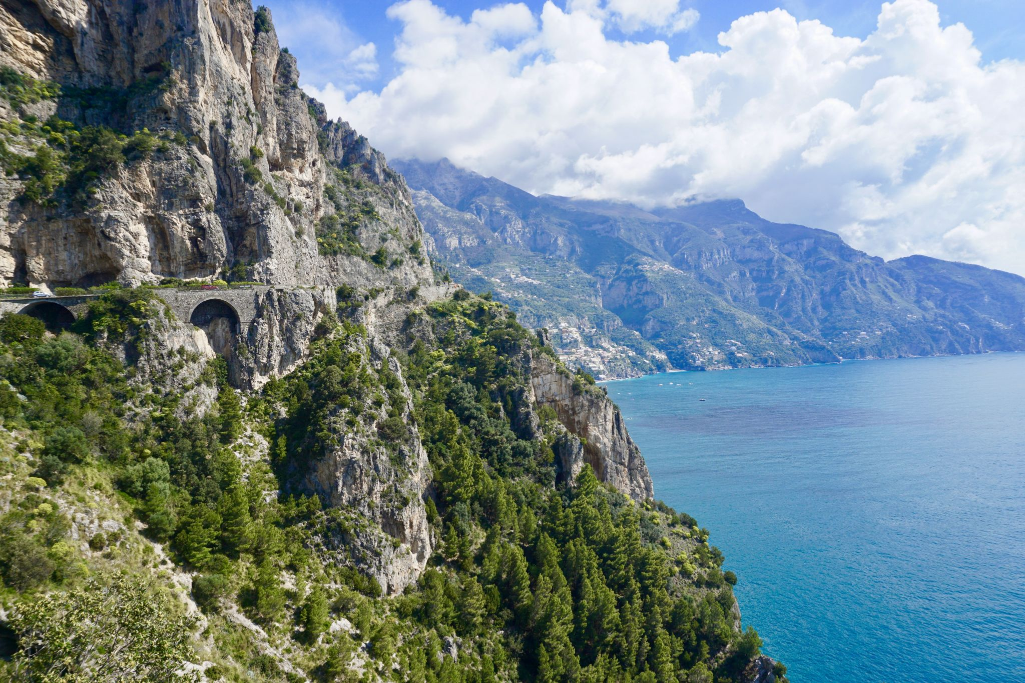 The Amalfi Drive is a thrilling and awe-inspiring road to drive