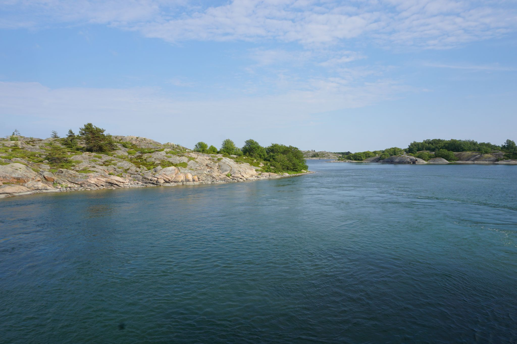 Beautiful archipelago views from M/S Eivor near the island of Aspö in Southwest Finland