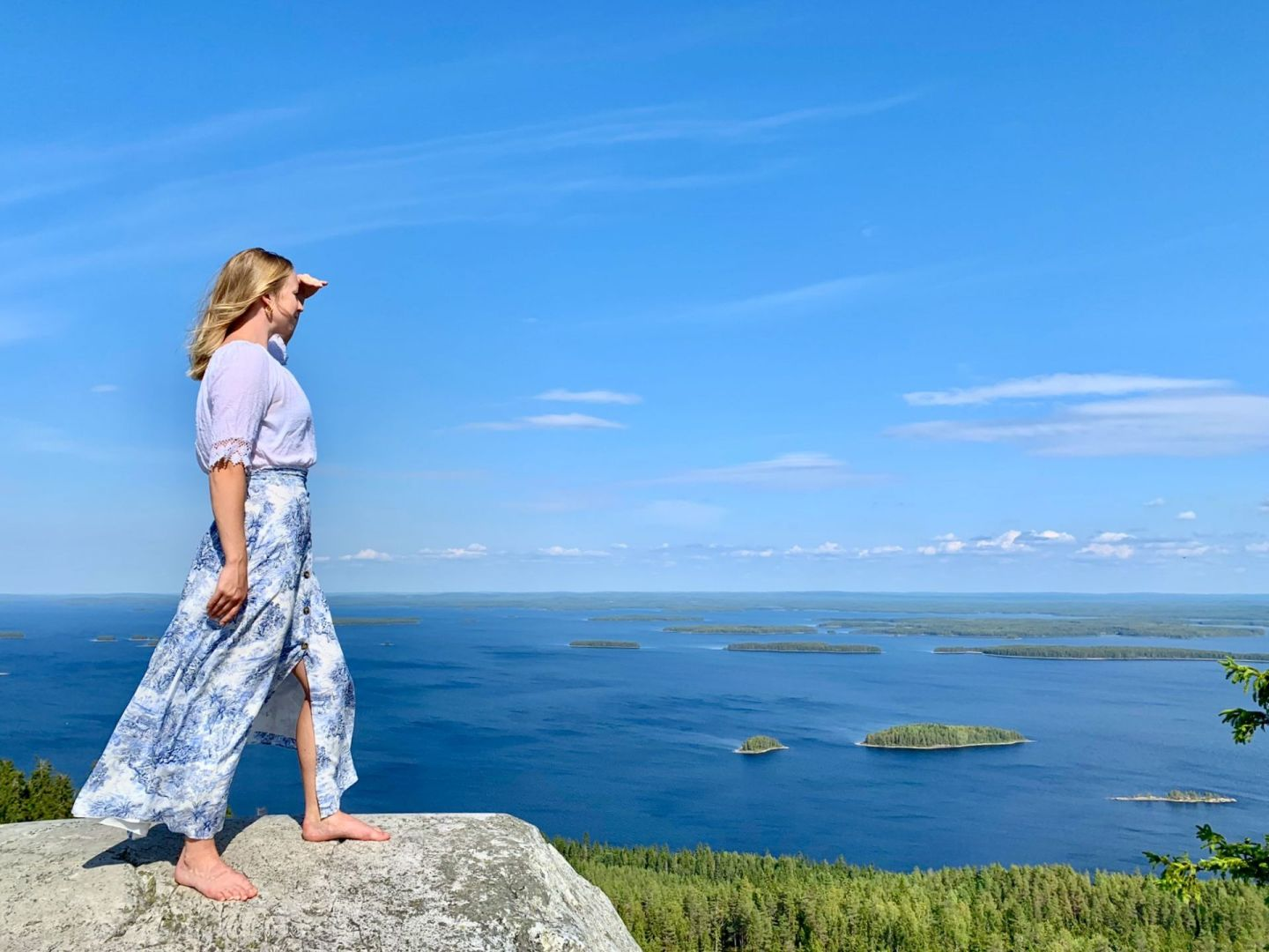 Beautiful views from Paha-Koli in Koli National Park