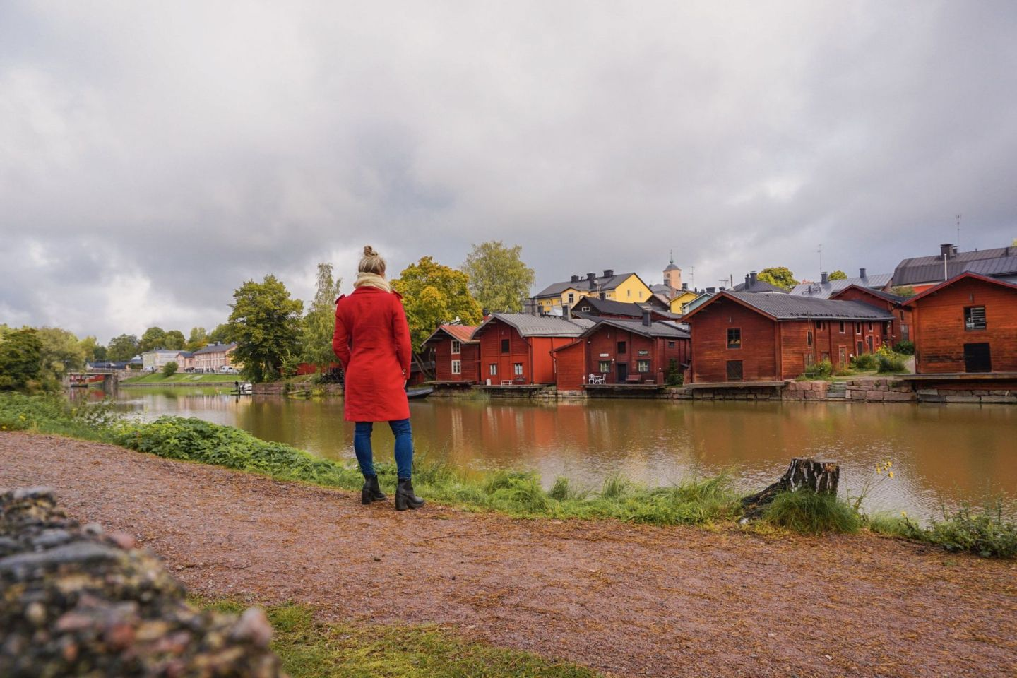 exploring porvoo old town