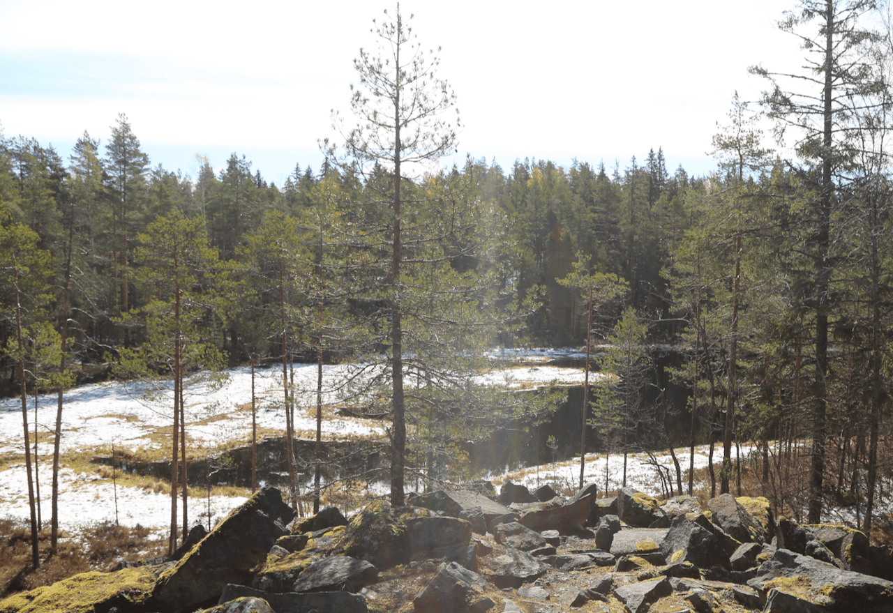 Visiting Kytäjä-Usmi Outdoor Recreation Area