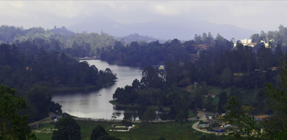 Upper lake View in Kodaikanal