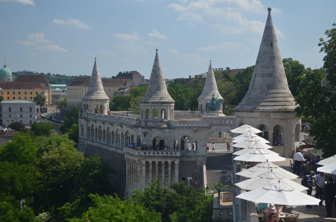 Buda castle, Budapest by Travel Jaunts