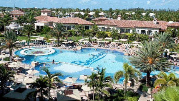 Beaches resort, Caribbean
