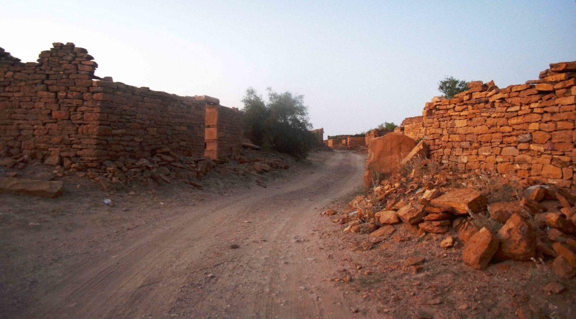 Road in Kuldhara by Travel Jaunts