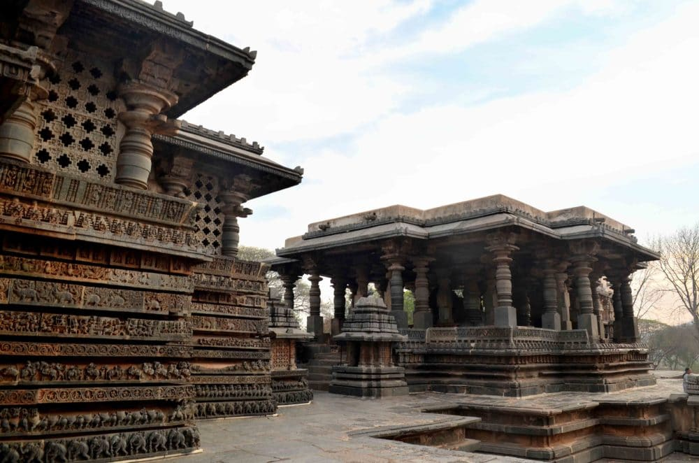 Halebidu temple complex by Travel Jaunts