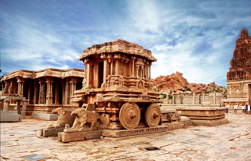 Hampi- Vittal temple