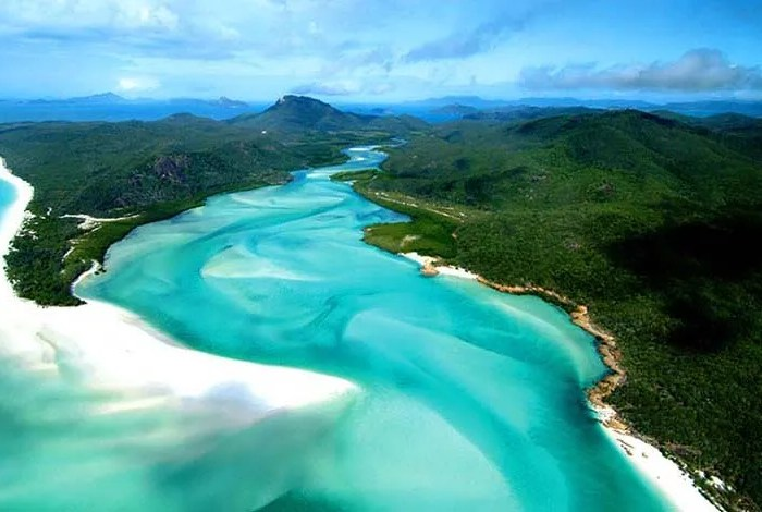 White haven beach , Australia