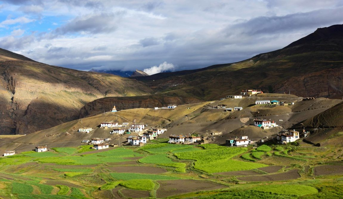 Langza village Spiti valley