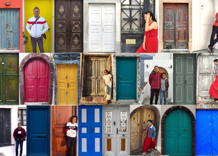 Santorini - Doors photography