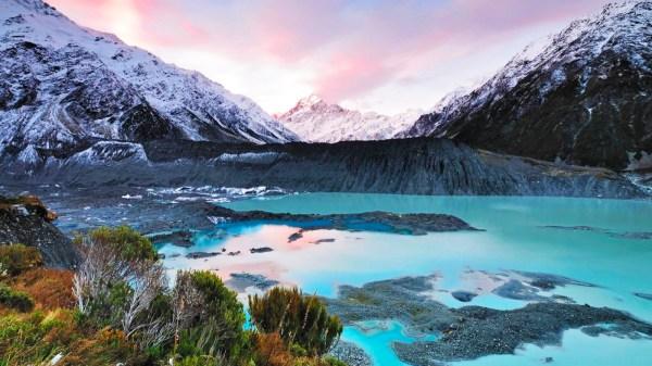 Groes Neuseeland Abenteuer Junge Leute