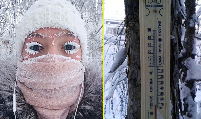 OYMYAKON Village , Siberia, World Coldest Village