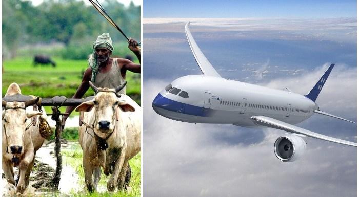 जब एक किसान का बेटा पहली बार हवाई जहाज (Aeroplane) में बैठा