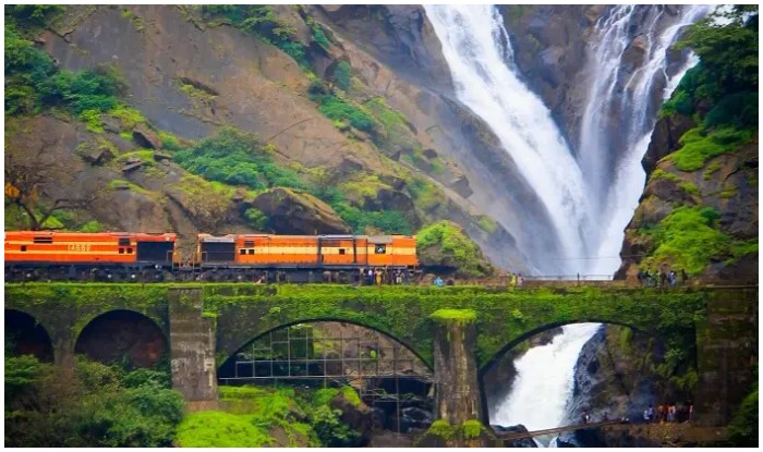 Dudhsagar Waterfalls Information-how-to-visit-best things to do
