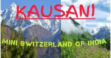 best Tourist Places in Kausani, Bageshwar, Pinnath, Rudradhari Falls, kausani tea estate, Someshwar, Anashakti Temple, Rudrahari Mahadev Temple, Pinnath, Planets Show, Sumitranandan Pant Gallery