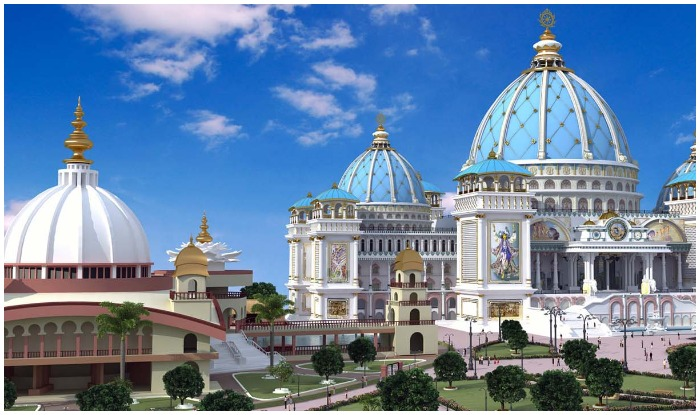 history of ISKCON temple