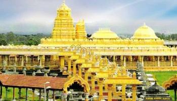 Sri Lakshmi Narayani Golden Temple made of 15 thousand kg gold