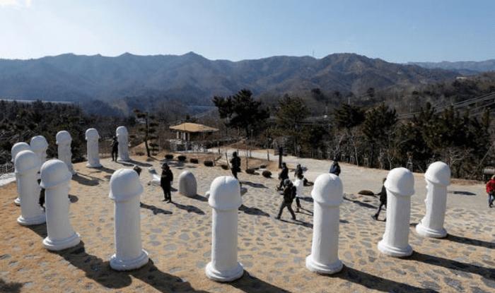 know about south korea penis park or haesindang park