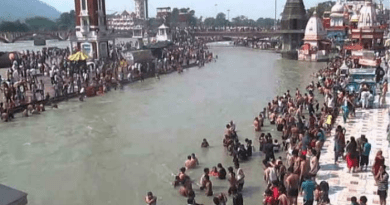 ganga water will flow again on Har ki Pauri in haridwar