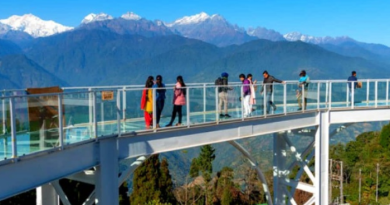Like China, glass sky walk made in Sikkim, know full information about it