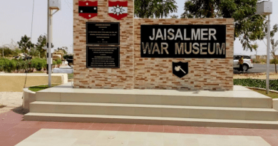 Jaisalmer War Museum where the Battle of Longewala is shown