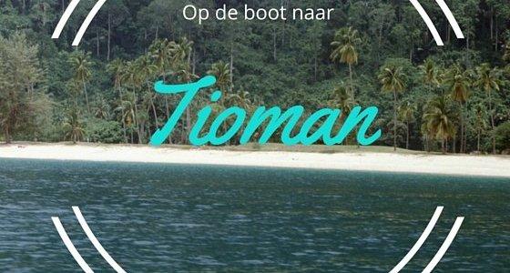 Op de boot naar Tioman eiland