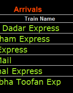 Nowadays railway new time table is available on its official website train platform information also online schedules of southern railways schdule rh travelkhana