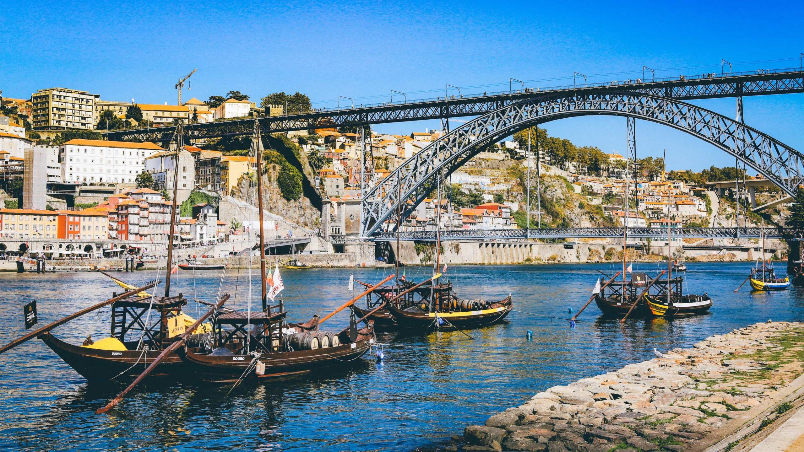 Porto a řeka Douro