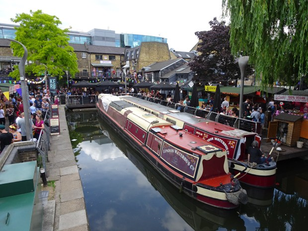 The Regents Canal Camden Lock Market