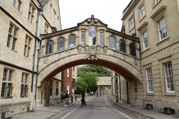 Oxford the historic university town