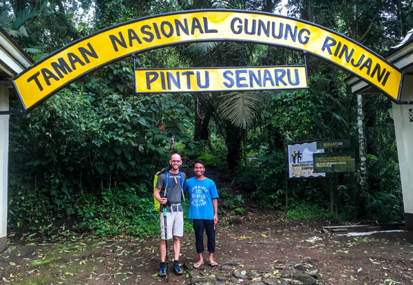mount rinjani hiking best travel shirt