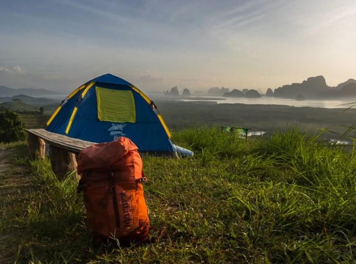 samet nangshe viewpoint camping