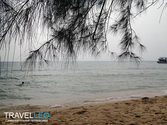 Пляж Бай Куа Кан (Bai Cua Can) остров Фукуок, Вьетнам