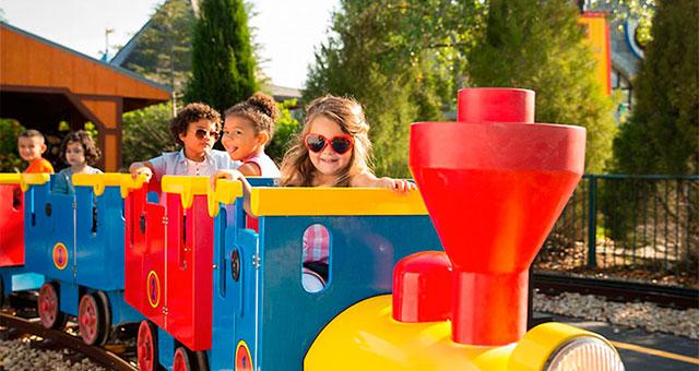 Лучший способ получить максимум от разнообразия этого места — проехаться на Legoland Express