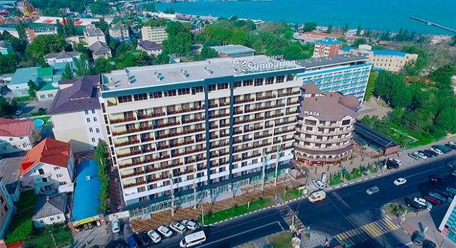 Отели в Анапе все включено с бассейном - Sunmarinn Resort All Inclusive