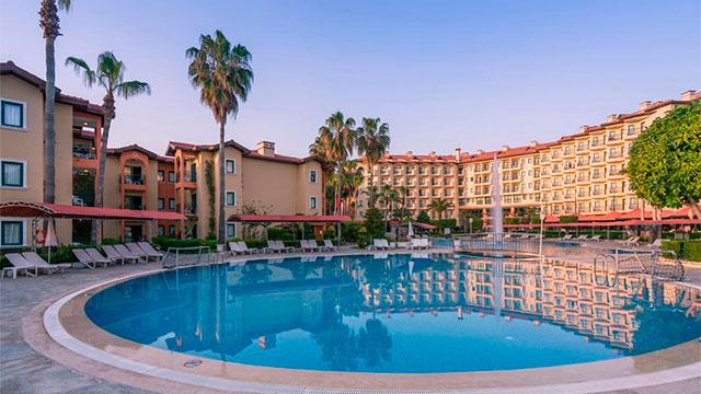 Отель Miramare Queen Hotel 4 звезды Сиде Турция